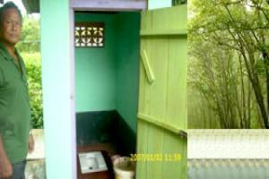 How to tackle insanitary latrines?