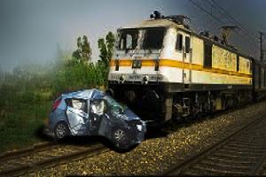 Accidents at Unmanned Level Crossing