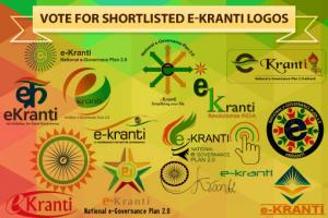 Vote for e-Kranti Logo