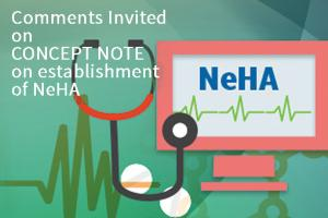 Comments invited on Concept Note on establishment of National e-Health Authority