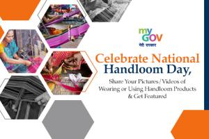 Share Your Pictures/Videos of Wearing or Using Handloom Products and Get Featured