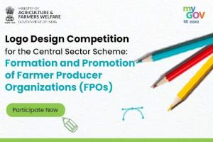 Logo Design Competition for Formation and Promotion of FPOs