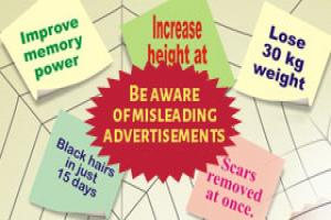Suggestions regarding action that citizen can take against Misleading Advertisements